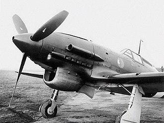Macchi C.202 - The nose of a Macchi C.202D