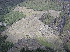 Machu Picchu from above