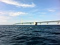 Mackinac Bridge from Straits of Mackinac during boat tour - 0052.jpg