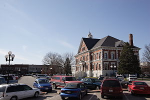 National Register of Historic Places listings in McDonough County, Illinois - Image: Macomb Square