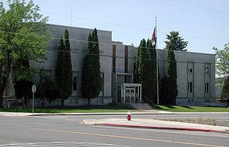 Jefferson County, Oregon - Image: Madras Jeffersoncourthouse
