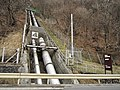 Maekawa power station penstock.jpg