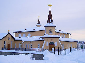Magadan - Church of the Nativity