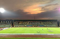 Main Stand of the Indira Gandhi Athletic Stadium, Guwahati.jpg
