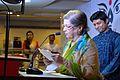 Maina Bhagat - Inaugural Address - Apeejay Bangla Sahitya Utsav - Kolkata 2015-10-10 4868.JPG