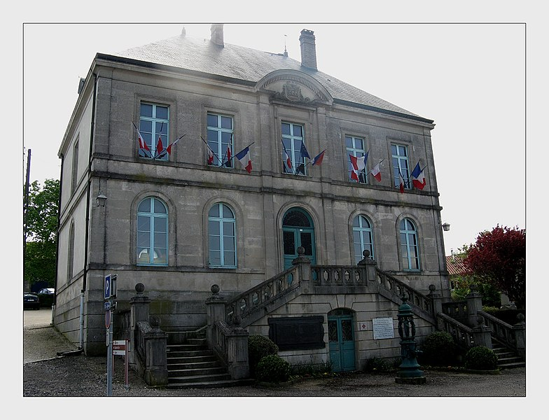 Mairie de Souilly - French Army Headquarters during battle of Verdun in 1916
