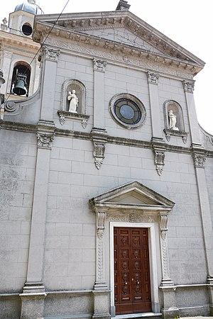 Maissana - Church of St. Bartholomew.