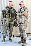 Maj. Gen. Terry speaks with ISAF commander Gen. Allen at Kandahar Airfield DVIDS455823.jpg