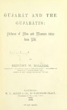Malabari, Behramji M. - Gujarat and the Gujaratis (1882).djvu