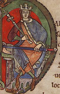 Malcolm IV, King of Scotland, charter to Kelso Abbey, 1159, initial (crop Malcolm IV).jpg