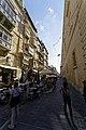 Malta - Valletta - Archbishop's Street - View along Grandmaster's Palace.jpg