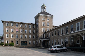 Sutton, Massachusetts - Manchaug Mill