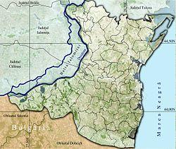 Vị trí của Mangalia