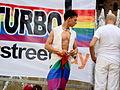 Manifestante al Gay Pride di Milano 2008 2 - Foto Giovanni Dall'Orto, 7-June-2008.jpg