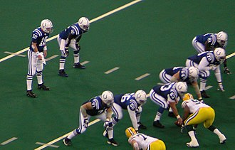 Peyton Manning - Manning and the Colts line up against the Green Bay Packers in 2004