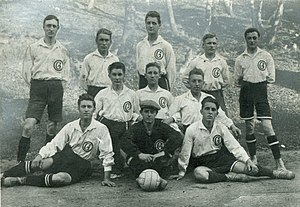 Mannschaftsfoto SC Germania Reusrath 1921