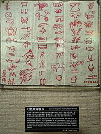 Manuscripts in the Yunnan Nationalities Museum - DSC03934.JPG