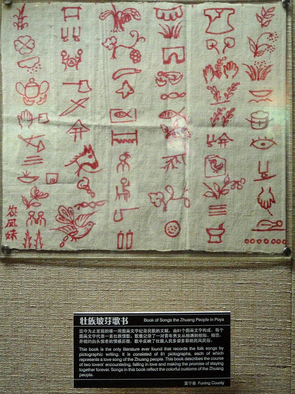 Manuscripts in the Yunnan Nationalities Museum - DSC03934.JPG