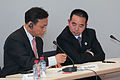 Mao Zhenhua, Chairman, Chengxin International and Yao Zhijun, Chairman, Yaosheng Steelwork - Flickr - Horasis.jpg