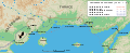 Map Philippi campaign 42 BC-fr.svg
