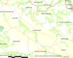 Map commune FR insee code 64254.png