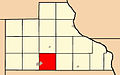 Map highlighting Maquoketa Township, Jackson County, Iowa.jpg
