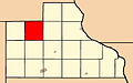 Map highlighting Otter Creek Township, Jackson County, Iowa.jpg