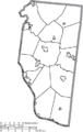 Map of Clermont County Ohio Highlighting Chilo Village.png