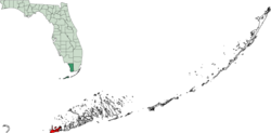 Map of Florida Keys highlighting Key West.png