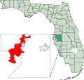 Map of Florida highlighting Tampa.svg