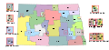 Map of North Dakota's Legislative Districts.svg