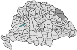 Location of Máramaros