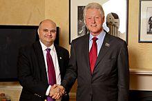 Marc Ellenbogen and Bill Clinton.jpg