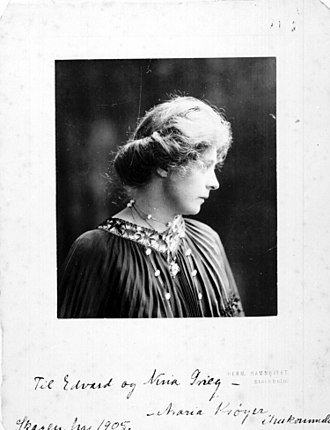 Marie Krøyer - Image: Maria Kröyer portrait (5435474877)