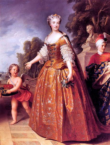 Fichier:Maria Lescynska; Queen of France- François Stiémart.jpg