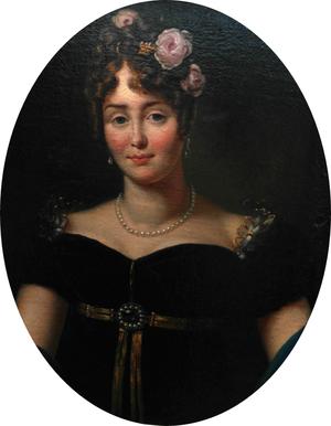 Marie Walewska - portrait by François Gérard