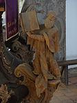 Marienstiftskirche Lich Kanzel Thomas von Aquin 06.JPG