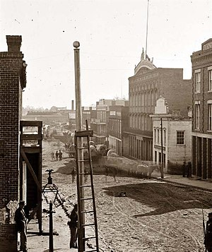 Atlanta - Marietta Street, 1864