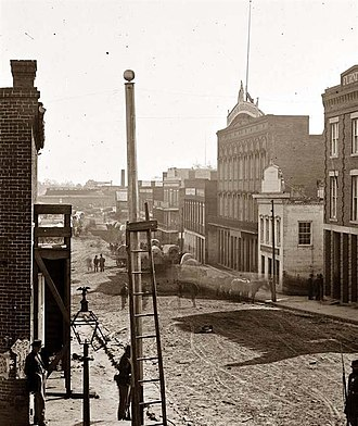 Atlanta - Marietta Street, 1864