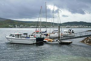 Small yacht marina, Kyle of Lochalsh, Highland