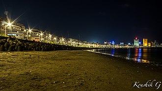 Marine Drive, Mumbai - Evening View