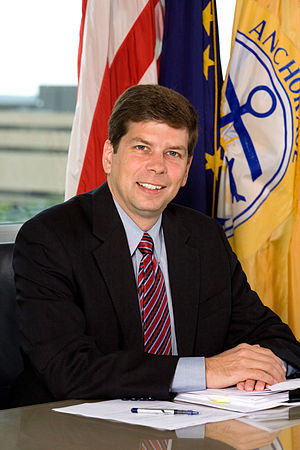 Mark Begich - Begich as mayor of Anchorage