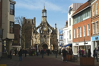 Chichester Cathedral city in West Sussex, England