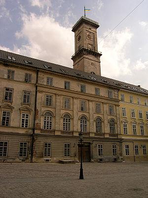 Lviv Town Hall - Image: Market Square Lviv