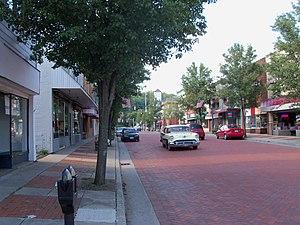 Minerva, Ohio - Market Street in Summer