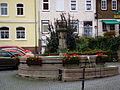 Marktbrunnen Tann Rhön September 2014.JPG