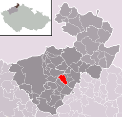 Location of Markvartice