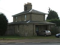 Marlesford railway station buildings Dec2008.jpg