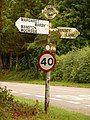Marnhull, Stoney Lawn finger-post - geograph.org.uk - 1406127.jpg