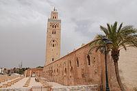 Мечеть аль-Кутубия в чертах медины Марракеша